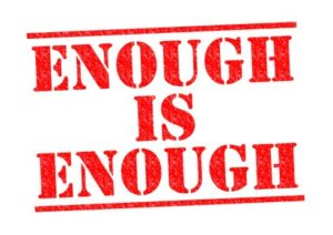 Have you had enough yet? Avoid burnout and breakdown.